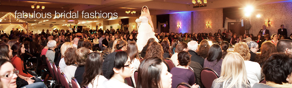 fabulous bridal fashions by Rochester's leading bridal shops